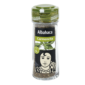 CARMENCITA albahaca frasco 16 gr