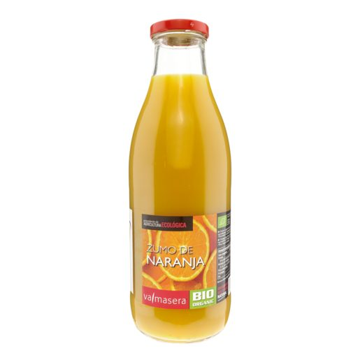 VALMASERA zumo de naranja botella 1 lt