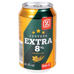 DIA cerveza extra lata 33 cl