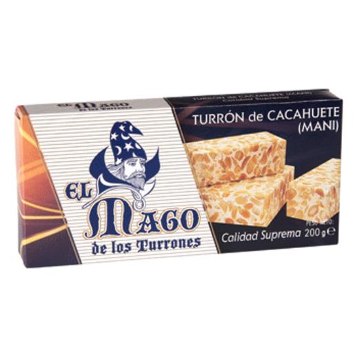 EL MAGO turrón cacahuete duro estuche 200 gr