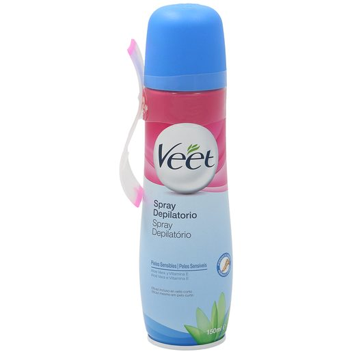 VEET spray depilatorio piel sensible  bote 150ml