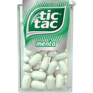 TIC TAC caramelo de menta envase 18 gr