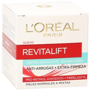 L'OREAL Revitalift crema hidratante antiarrugas piel normal a mixta tarro 50 ml