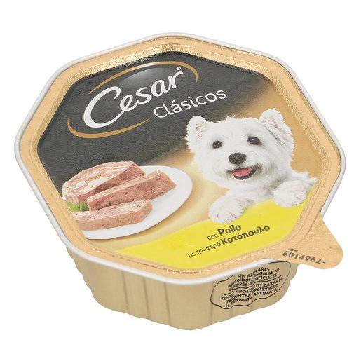 CESAR alimento para perros con pollo tarrina 150 gr