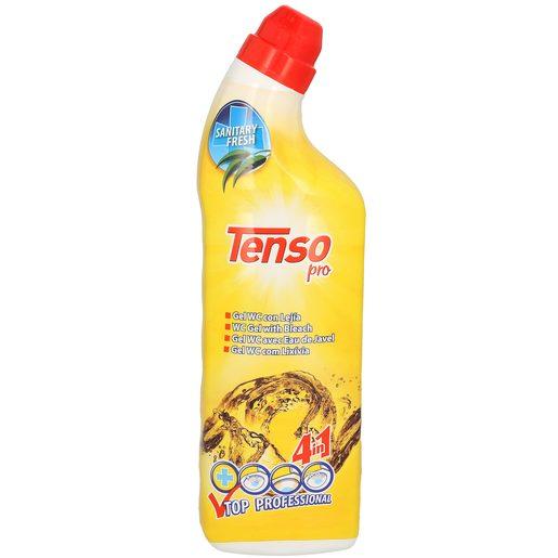 TENSO Pro gel limpiador wc 4 en 1 con lejía botella 1 lt