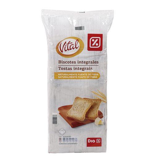 DIA VITAL biscotes integrales paquete 800 gr