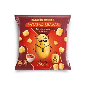 DIA PATATAS UNIDAS patatas bravas prefritas bolsa 750 gr