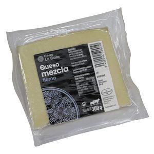 CERRO LA COTA queso mezcla tierno cuña 300 gr