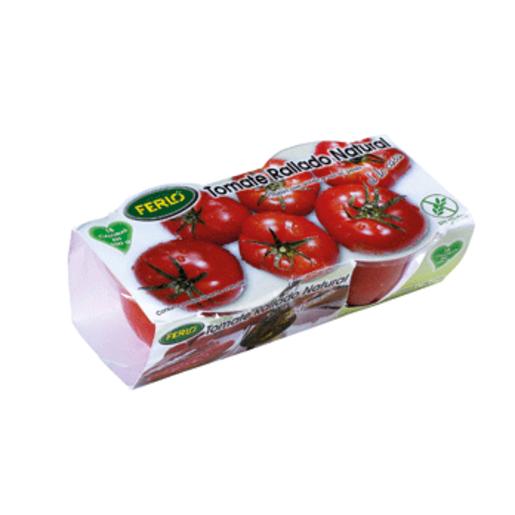 Tomate rallado natural tarrina 2 uds