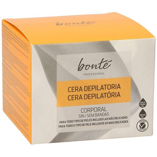 BONTE cera depilatoria corporal sin bandas caja 300 gr