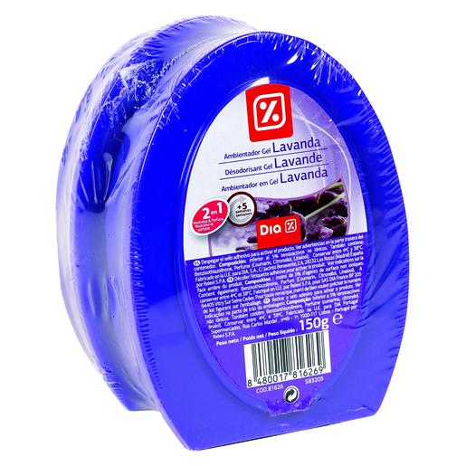 DIA ambientador-neutralizador aroma lavanda barqueta 2 uds