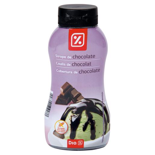 DIA sirope de chocolate botella 295 gr