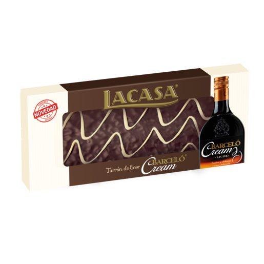 LACASA turrón de licor barceló cream estuche 230 gr