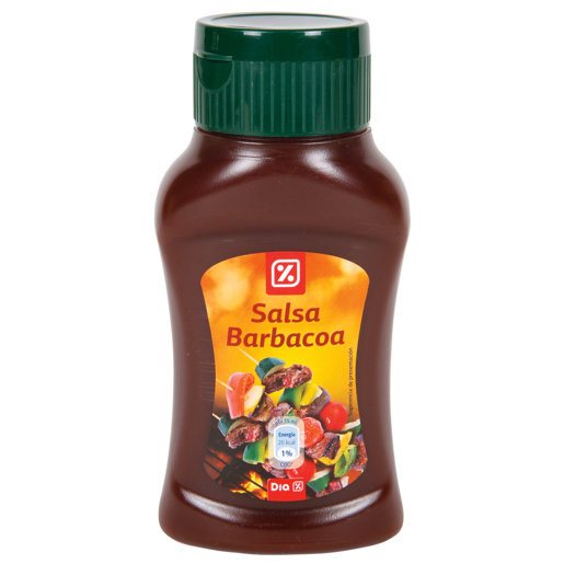 DIA salsa barbacoa bote 300 ml