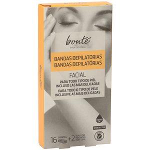 BONTE bandas depilatorias facial caja 16 uds