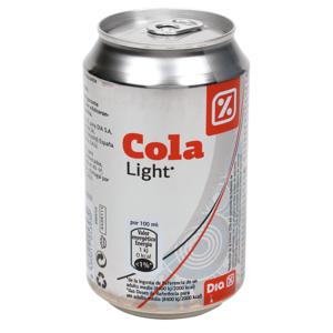 DIA refresco de cola light lata 33 cl