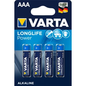 VARTA High energy pila alcalina AAA LR3 blíster 4 uds