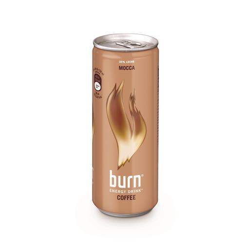 BURN bebida energetica al café lata 25 cl
