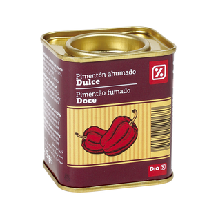DIA pimentón ahumado dulce lata 75 gr