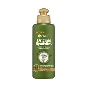 ORIGINAL REMEDIES aceite oliva en crema sin aclarado cabello reseco 200 ml