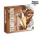 DIA TEMPTATION helado cono sabor nata y chocolate caja 6 uds 408 gr
