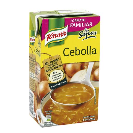 KNORR sopa de cebolla envase 1 lt