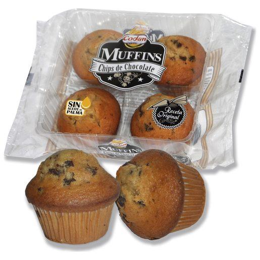 CONDAN muffins con pepitas de chocolate bolsa 300 gr