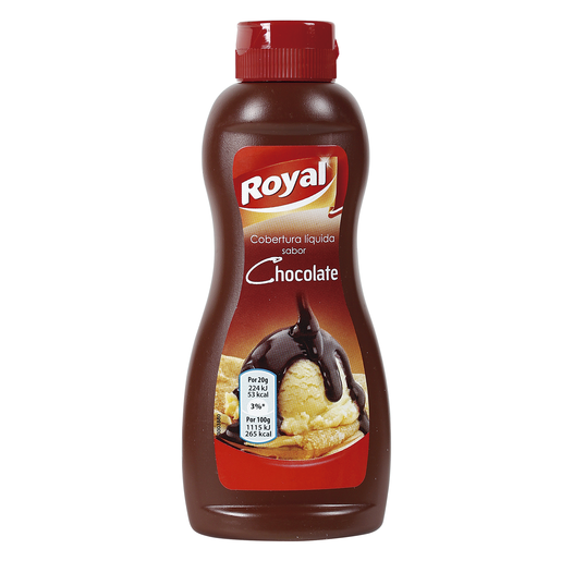 ROYAL sirope de chocolate bote 250 gr