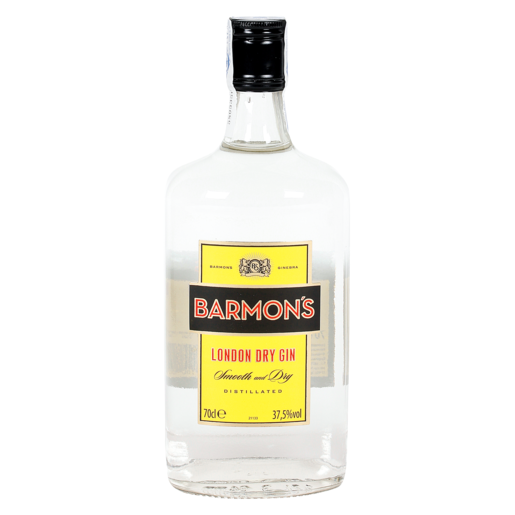 BARMONS london dry gin botella 70 cl