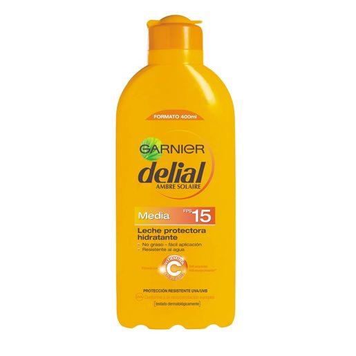 DELIAL  leche solar FP-15 400 ml