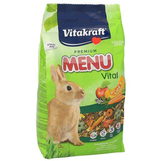 VITAKRAFT Premium alimento completo para conejos enanos bolsa 1 Kg