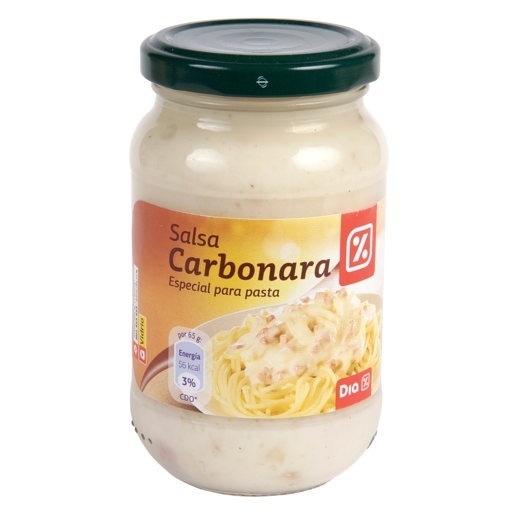DIA salsa carbonara frasco  260 gr