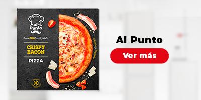 Descubre las nuevas pizzas Al Punto