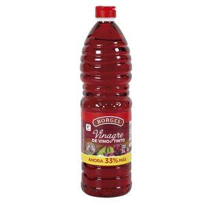 BORGES vinagre de vino tinto botella 1 lt