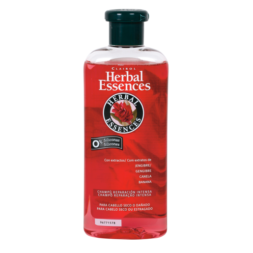 HERBAL Essences champú reparación intensa cabello seco/dañado bote 400 ml
