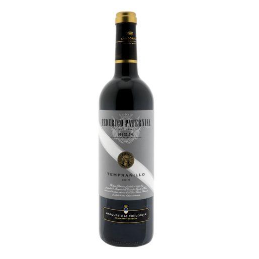 FEDERICO PARTENINA vino tinto tempranillo DO Rioja botella 75 cl