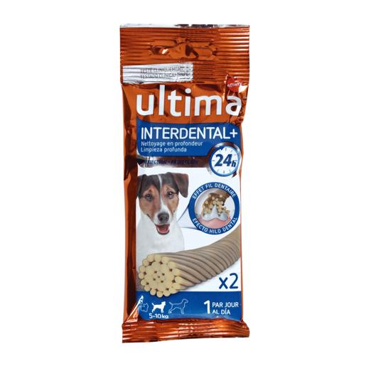 ULTIMA snack para perros interdental bolsa 36 gr