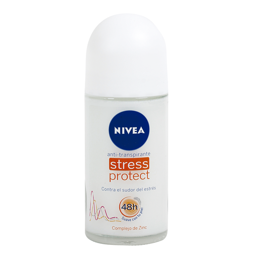 NIVEA desodorante stress protect roll on 50 ml