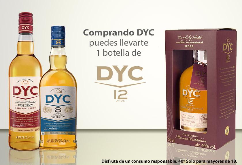 Compra DYC y gana una botella