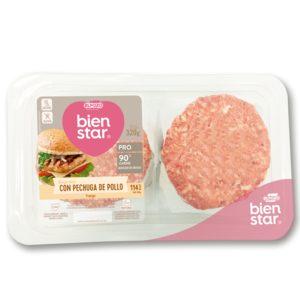 ELPOZO Bienstar hamburguesas de pavo bandeja 320 gr