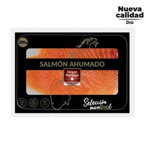 DIA SELECCIÓN MUNDIAL salmón ahumado noruego sobre 200 gr