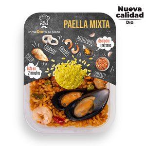 DIA AL PUNTO paella mixta bandeja 320 gr