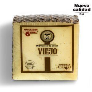 DIA EL CENCERRO queso mezcla viejo 6 meses con leche pasteurizada cuña 300g
