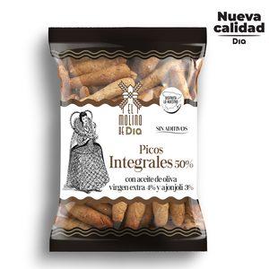 EL MOLINO DE DIA picos integrales con aceite de oliva bolsa 200 gr