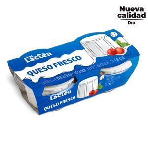 DIA LACTEA queso fresco natural pack 2 x 250 gr
