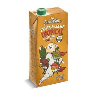 DIA ZUMOSFERA bebida de frutas con leche tropical envase 1 lt