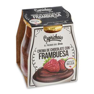 DIA CAPRICHOSO crema de chocolate y frambuesa tarrina 125 gr