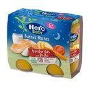 HERO Baby buenas noches verduritas con pollo tarrito 2x190 gr