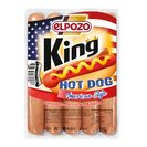 ELPOZO salchichas king hot dog envase 275 gr