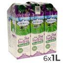 ASTURIANA leche desnatada 0% M.G. sin lactosa envase 1 lt PACK 6